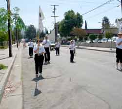 Tai Chi Youth in Tujunga Parade