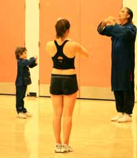 Buddha Zhen teaching at YMCA LaCanada