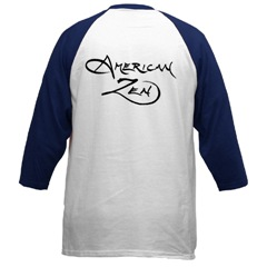 Rear View of AmZen Baseball jersey