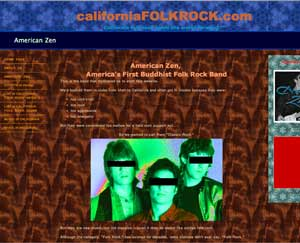 California Folk Rock Website